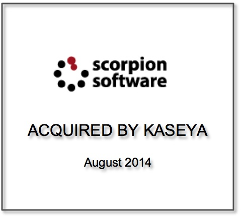 Scorpion Software Acquired by Kaseya
