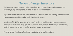 angel investors financing